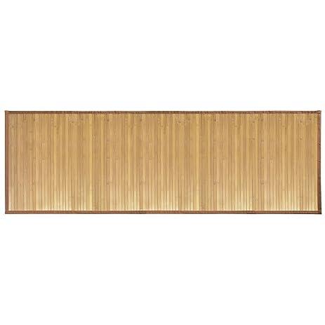interdesign bamboo floor runner u2013 ideal mat for hallways kitchen or office 24u201d