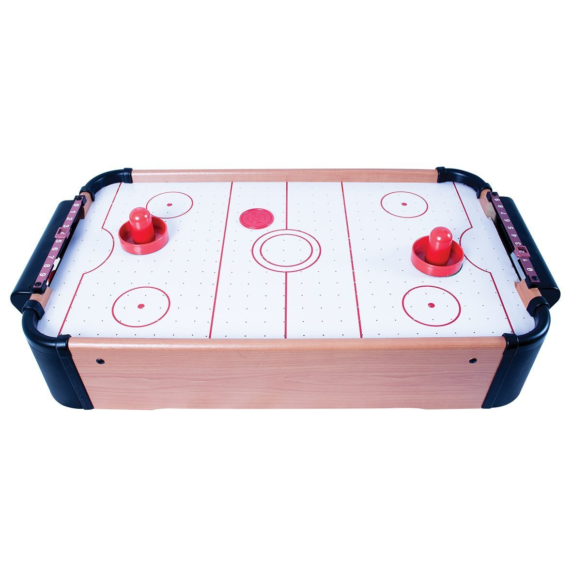 LETTUCE EAT ® TABLE TOP AIR HOCKEY GAME INCLUDES FREE BATTERIES GREAT CHRISTMAS PRESENT FOR ADULTS AND CHILDREN LETTUCE EAT®