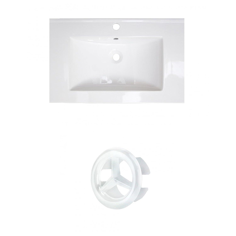 American Imaginations AI-888-21060 Ceramic Top Set White