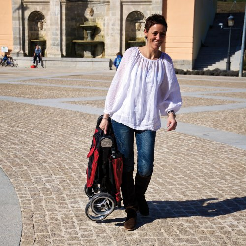 Baby Jogger City Mini 4 Wheel Stone Amazon Co Uk Baby