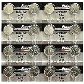 Energizer A76/LR44 (A76BP), SR44, L1154, 1.5v Alkaline Batteries uOTpb, 2Pack (Strip of 8)