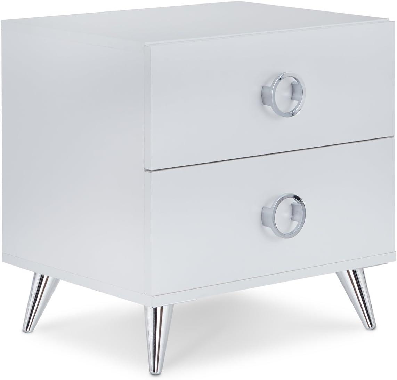 ACME Elms Night Table - 97334 - White