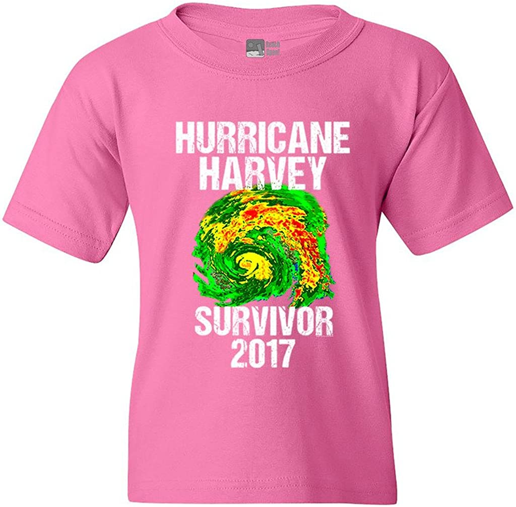 Hurricane Harvey Storm Survivor Houston Texas 2017 DT Youth Kids T-Shirt Tee