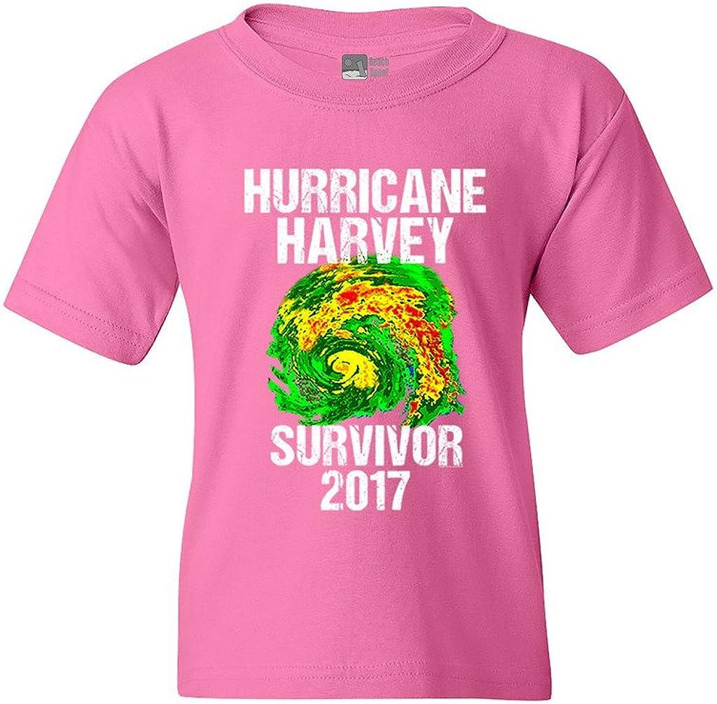 Hurricane Harvey Storm Survivor Houston Texas 2017 DT Youth Kids T-Shirt Tee