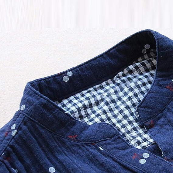 Top de Gran tamaño para Mujer, riou Camiseta Doble Capa Zou Top con Botones Impresos Retro Suelto Top Deportivo T Shirt Casual Tallas Grande ImpresióN Moda ...