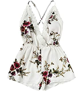a3d6eb8b0b8 Ma Baby Baby Girls Halter One-Pieces Romper Jumpsuit Sunsuit Outfit Clothes  0-24M