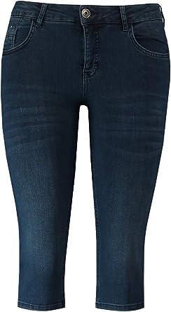 Ms Mode Mujer Pantalones Cortos Plus Size Talla Extra 40 A 54 Amazon Es Ropa Y Accesorios