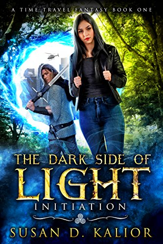 The Dark Side of Light:  Book One-INITIATION: A Viking Time Travel Fantasy (The Dark Side of Light Trilogy 1)