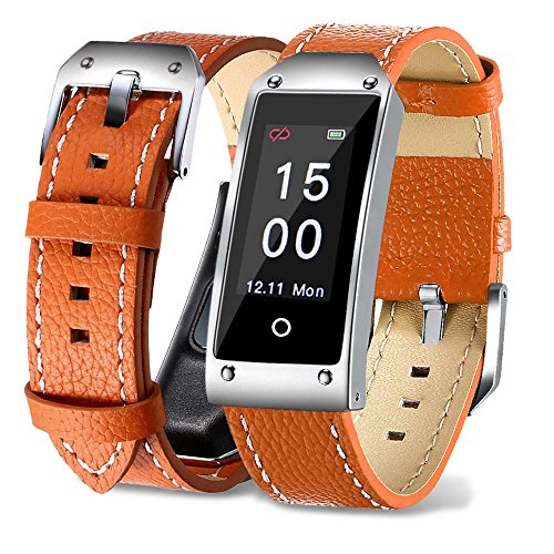 Sports Smart Watch,Smart Bracelet,Fitness Tracker Watch, for Women Men and Kids - Orange by Sammid