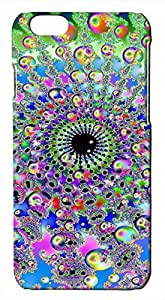 Generic Colorful Trippy Psychedelic Pattern Art Hard Case for iPhone 6