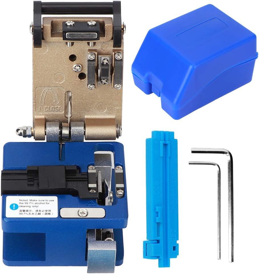 FC-6S Herramientas de corte de cuchilla de fibra /óptica Cortador de fibra /óptica Retorno autom/ático de cuchilla Corte de alta precisi/ón