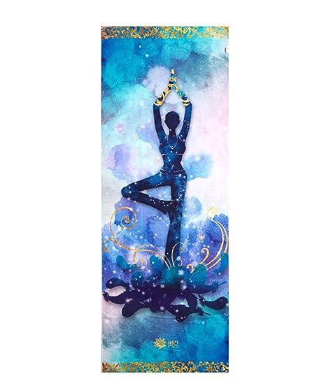 LILVLI-HAN Manta de Yoga, Toalla de Esterilla de Yoga, Sudor ...