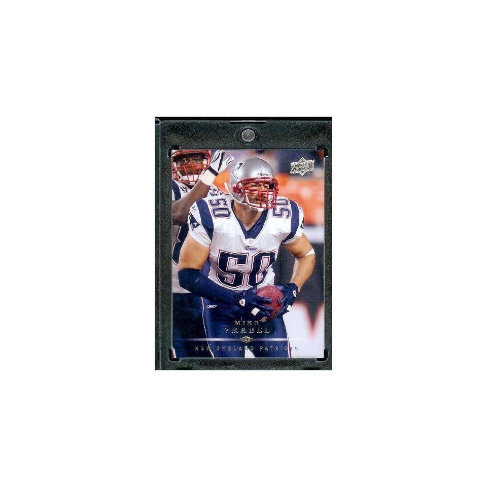 2008 Upper Deck #116 Mike Vrabel   New England Patriots   NFL Trading Cards