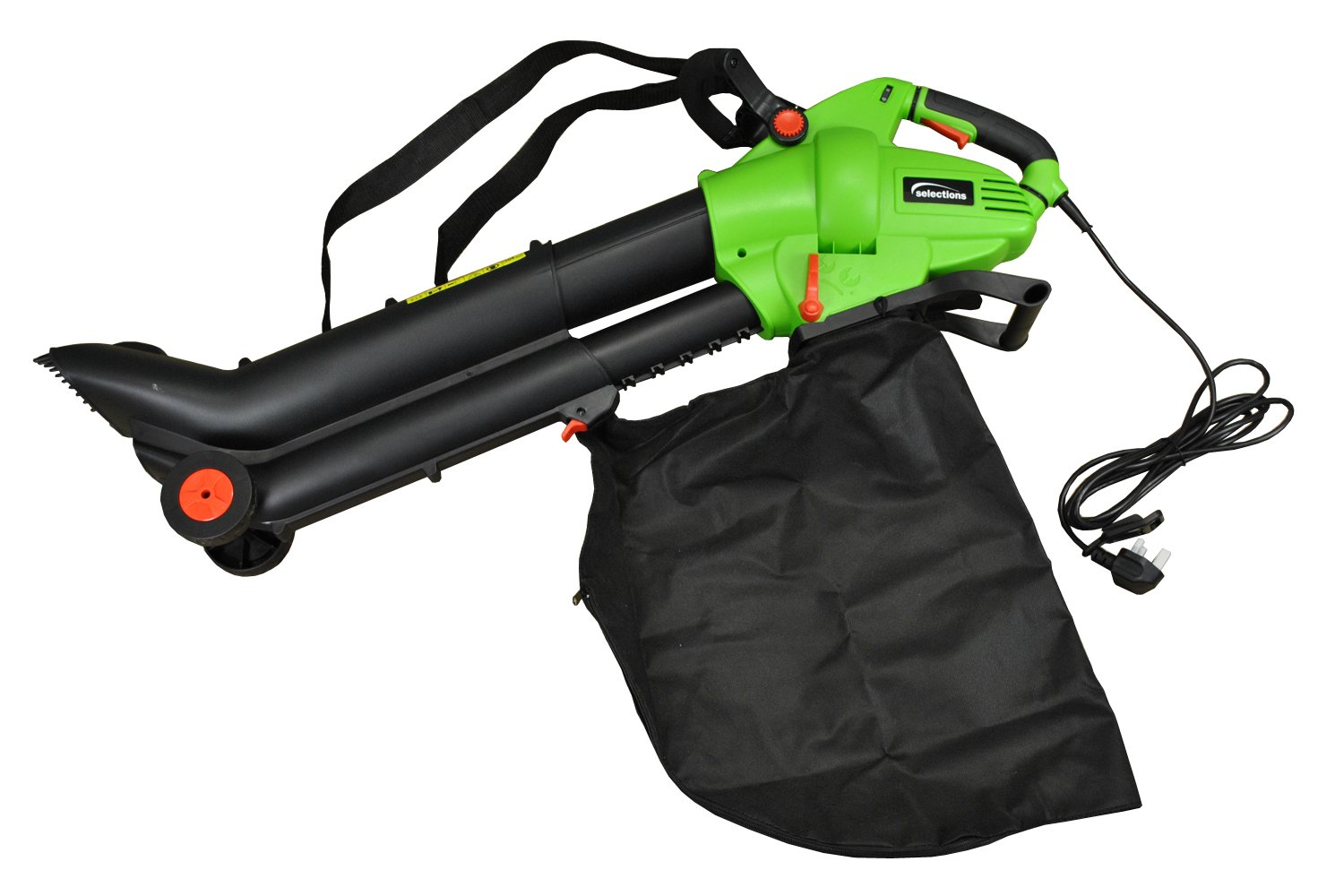 Selections 3000 Watt Electric Leaf Blower Vacuum