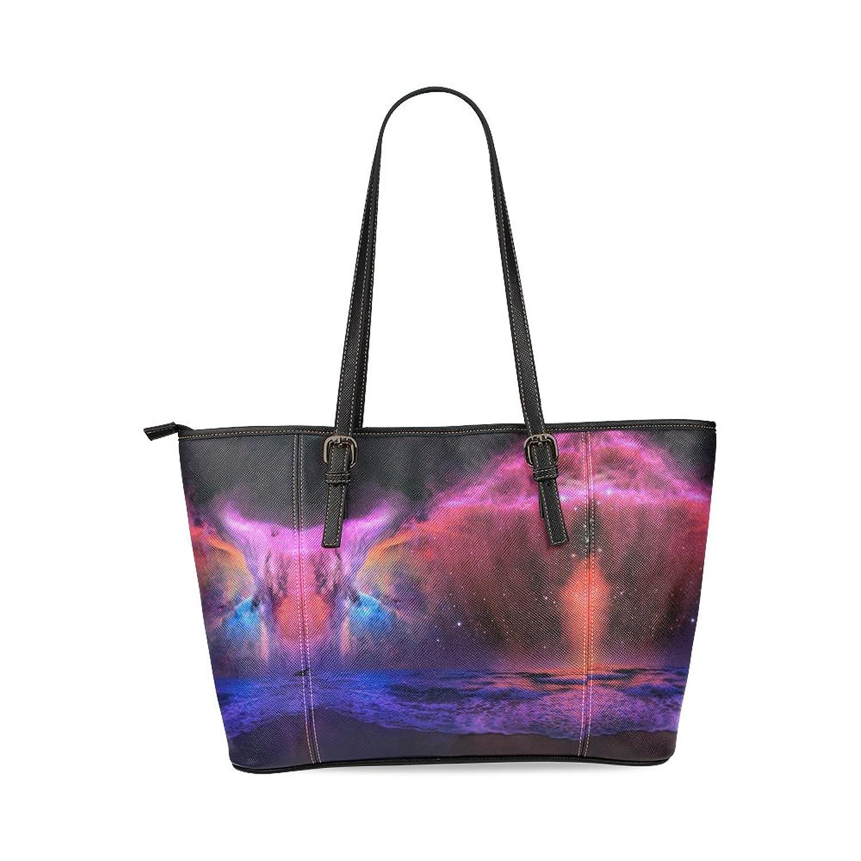 Galaxy Custom PU Leather Large Tote Bag/Handbag/Shoulder Bag for Fashion Women /Girls
