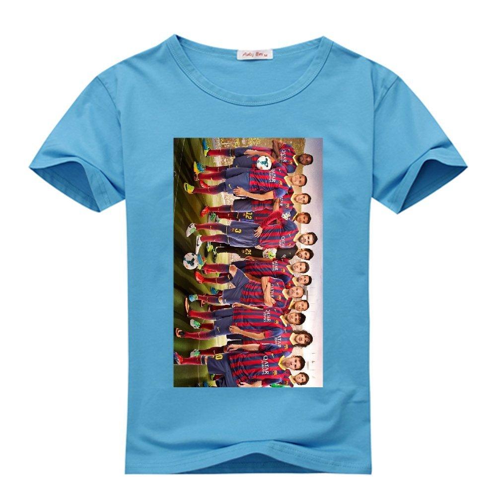 Amazon.com: angelgod Mens T-Shirt Fc Barcelona Team XXX ...