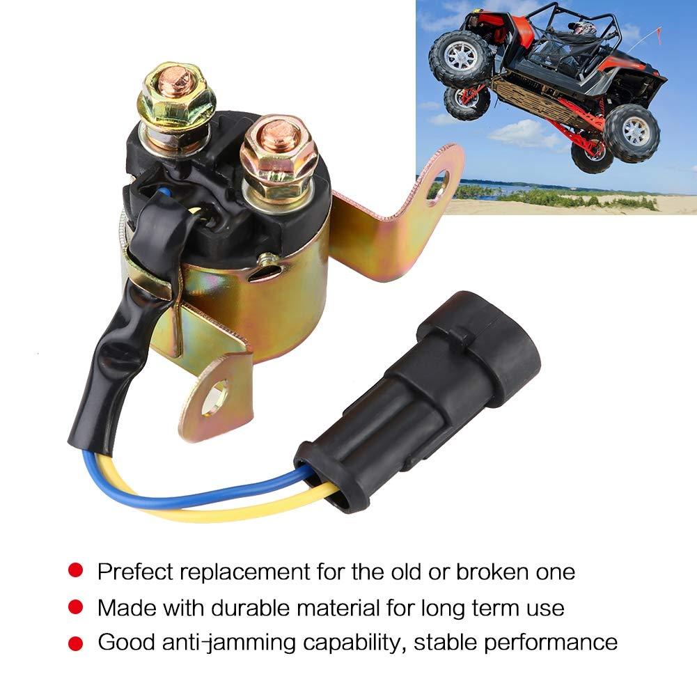 700 TRAIL BOSS 330 Rel/è Solenoide Avviamento 4010947 4012001 Starter Solenoid Relay Contactor Switch per RANGER 400 HO 500//800 RZR Sportsman 450//500
