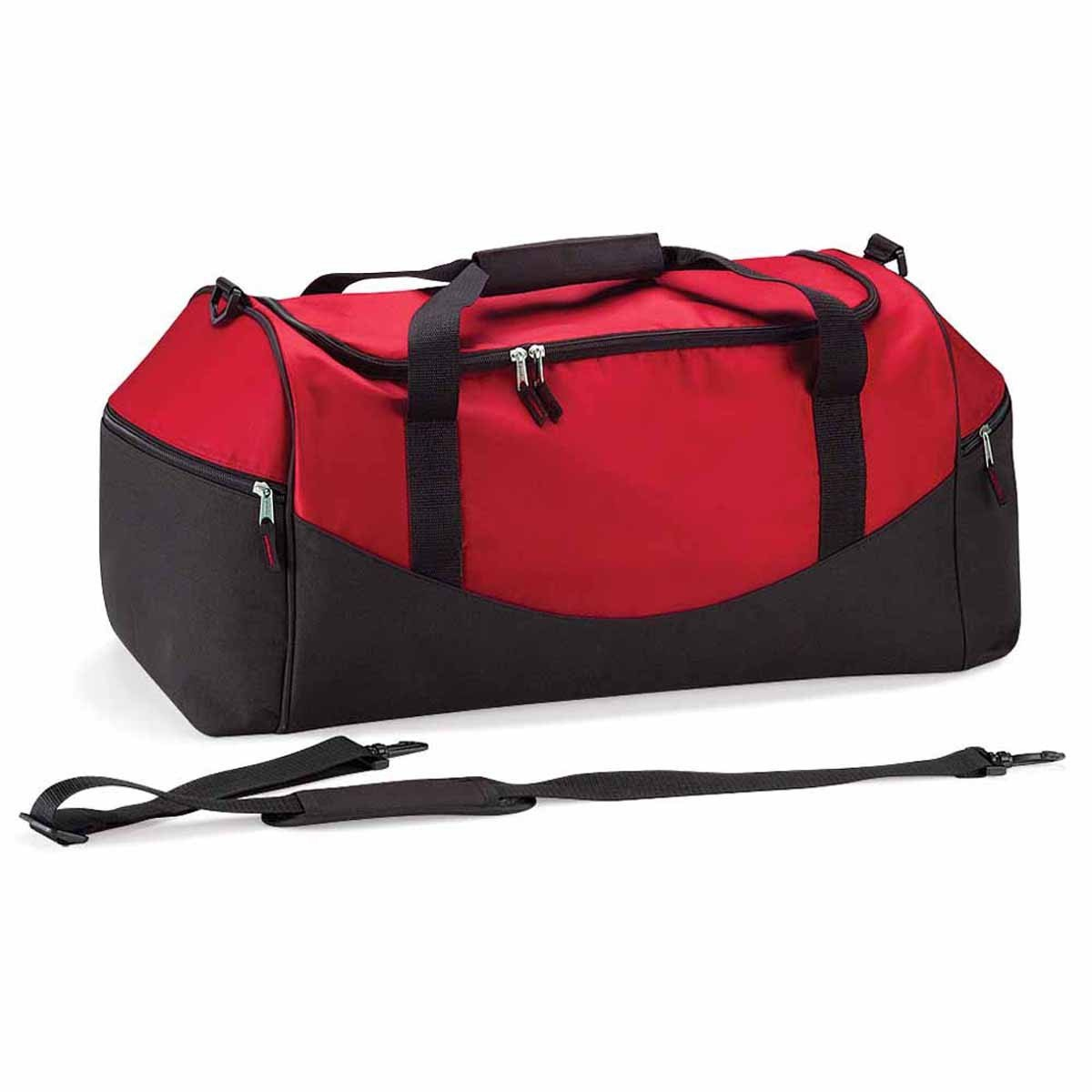 49dba58fbe Quadra - sac de sport 55 L - QS70 - TEAMWEAR HOLDALL - coloris rouge / noir:  Amazon.co.uk: Luggage
