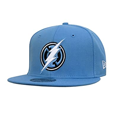 52c78c837a9872 Image Unavailable. Image not available for. Color: Blue Lantern Flash  Symbol 9Fifty Snapback Hat