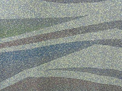 リサイクル 着物 訪問着 作家物 正絹 袷 波のような文様 裄67cm 身丈160cm