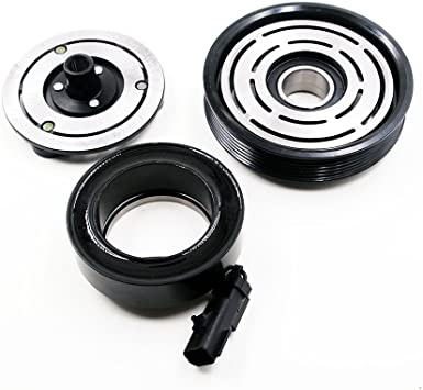 INEEDUP AC Compressor and A//C Clutch for 06-08 Jeep Liberty Dodge Nitro CO 10900C