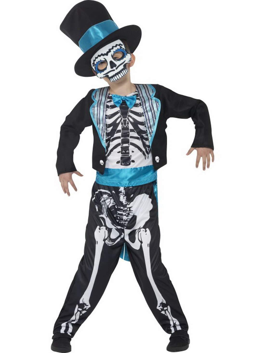 erdbeerclown - Disfraz Infantil Día de los Muertos Traje de ...