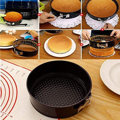 NARCE 8-Piece Nonstick Bakeware Set | Chef Favorites:Nonstick Baking Sheets,Loaf,Muffin,Pizza Pan,Pie Pan,Springform| by NARCE (Image #4)