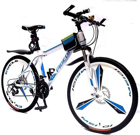 HECHEN Bicicleta de montaña - Freno Doble Disco Amortiguador -21 ...