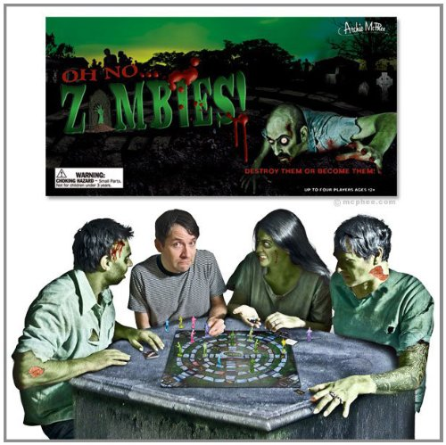 Accoutrements Oh No Zombies Board Game