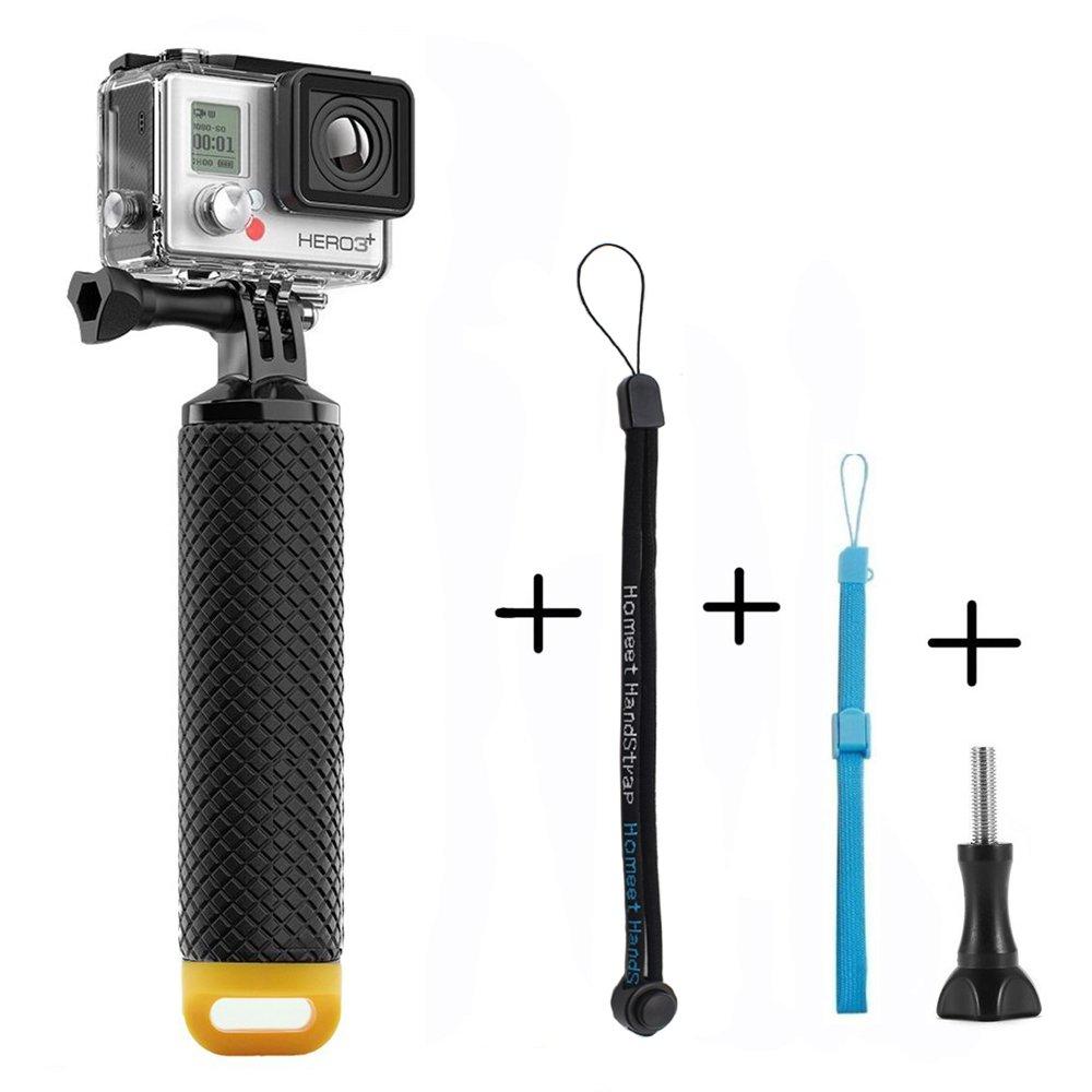 Homeet Palo Flotante Selfie Grib Flotador Empuñadura Deporte Acuático Monopod de Buceo para GoPro Hero 5/4/3+/3 Session SJCAM /Garmin Virb XE/Xiaomi ...