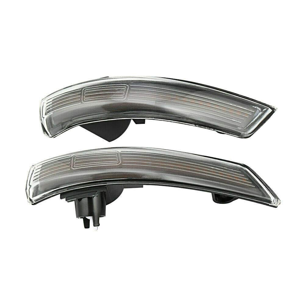 SYWAN EIN Paar Dynamische LED Blinker Licht Seitenspiegel Flie/ßende Anzeige f/ür Ford Focus 2008-2018 Mondeo mk4 2011-2015