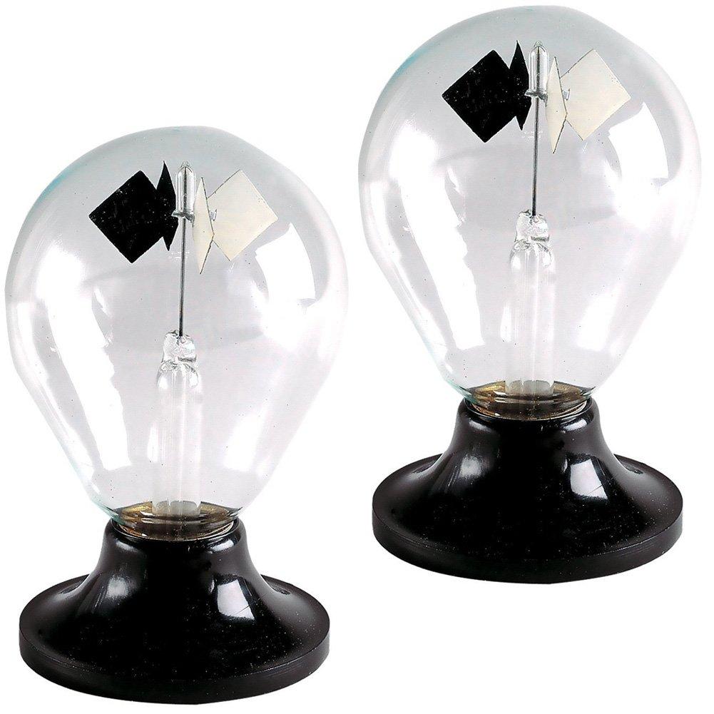 (Set of 2) Tedco Solar Engine Radiometer Sphere - Bright Light Bulbs (Set of 2)