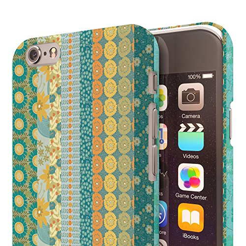 Koveru Back Cover Case for Apple iPhone 6 - Teal Pattern