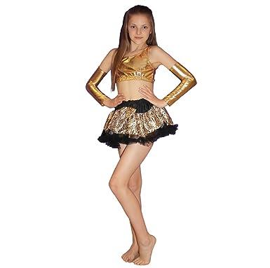 93d7bd781 Crazy Chick Girls Children Fancy Dress Leopard Printed Tutu Skirt ...