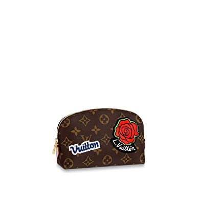 ad4d30311208 Image Unavailable. Image not available for. Color  Louis Vuitton Cosmetic  Pouch PM Limited Edition M43998