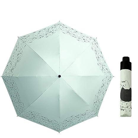 Compact Umbrellas Multi-colored Anti-UV Waterproof Windproof Folding Umbrella