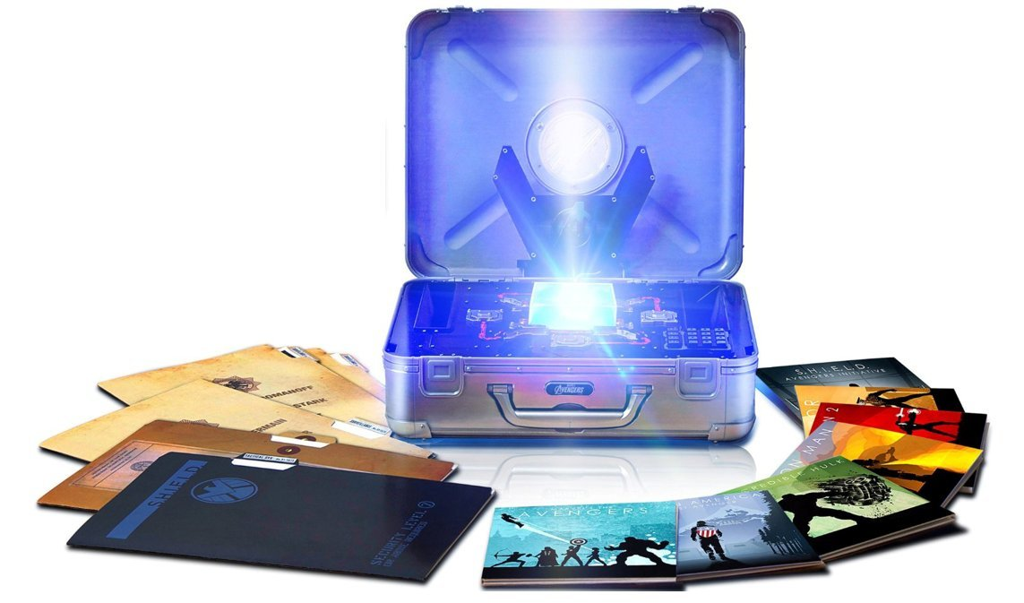 Marvel Cinematic Universe: Phase One - Avengers Reino Unido Blu-ray: Amazon.es: Marvel Cinematic Universe: Cine y Series TV