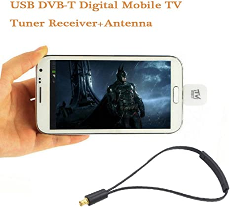 bescita de Micro USB DVB-T Televisión móvil sintonizador Digital ...