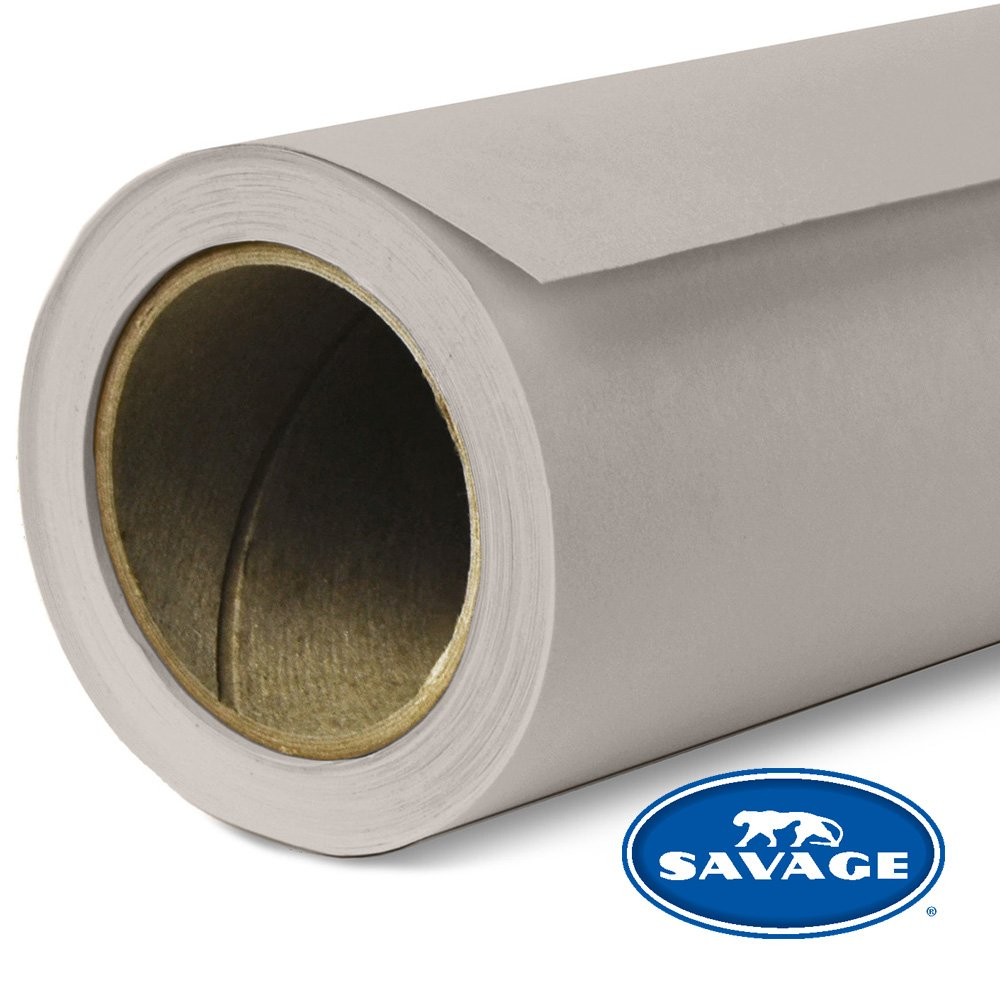 Savage Seamless Background Paper, 107'' wide x 12 yards, Storm Gray, #70