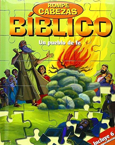 Un pueblo de fe: Rompecabezas bíblico (Varios infantiles) por Gustavo Magali