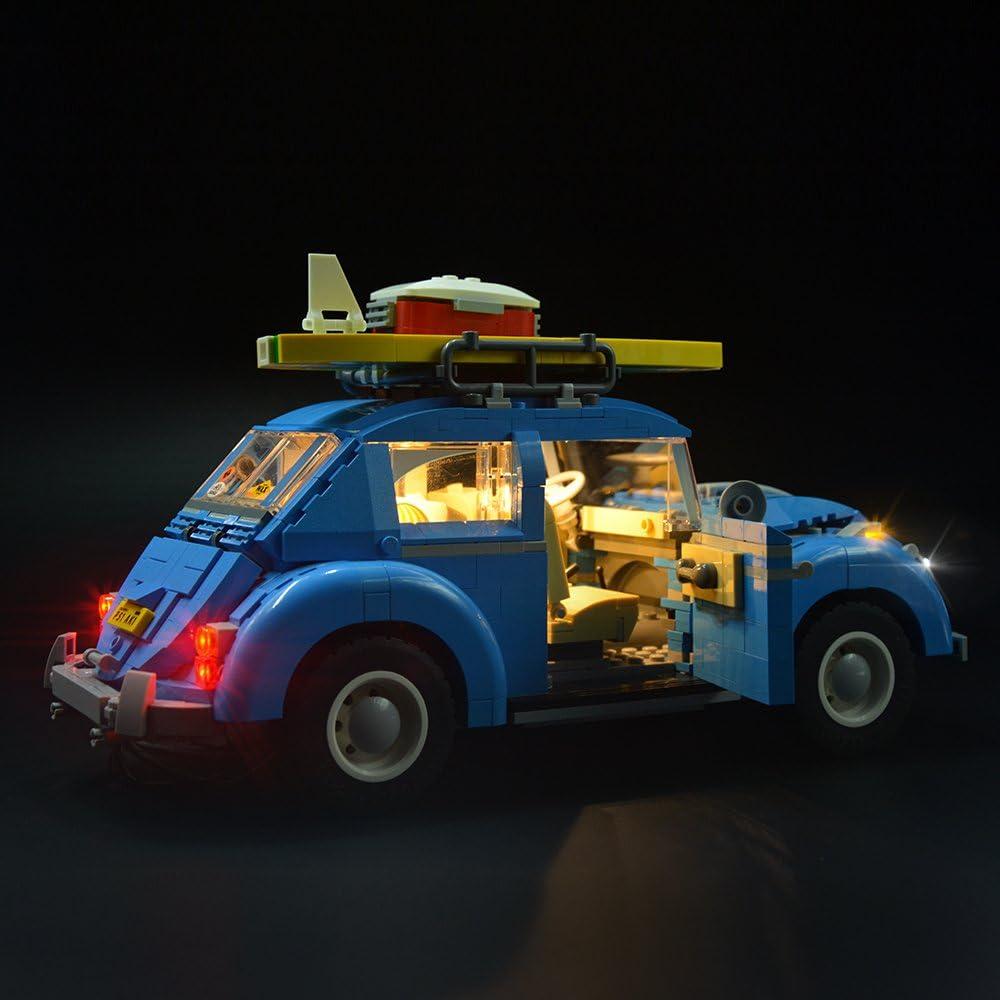 LED Light Lighting Kit for Lego 10252 Volkswagen Beetle Model Battery Box