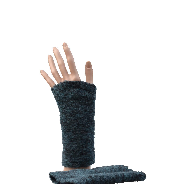 Pulswärmer Handstulpe Arm Stulpe Filz Bio ocean