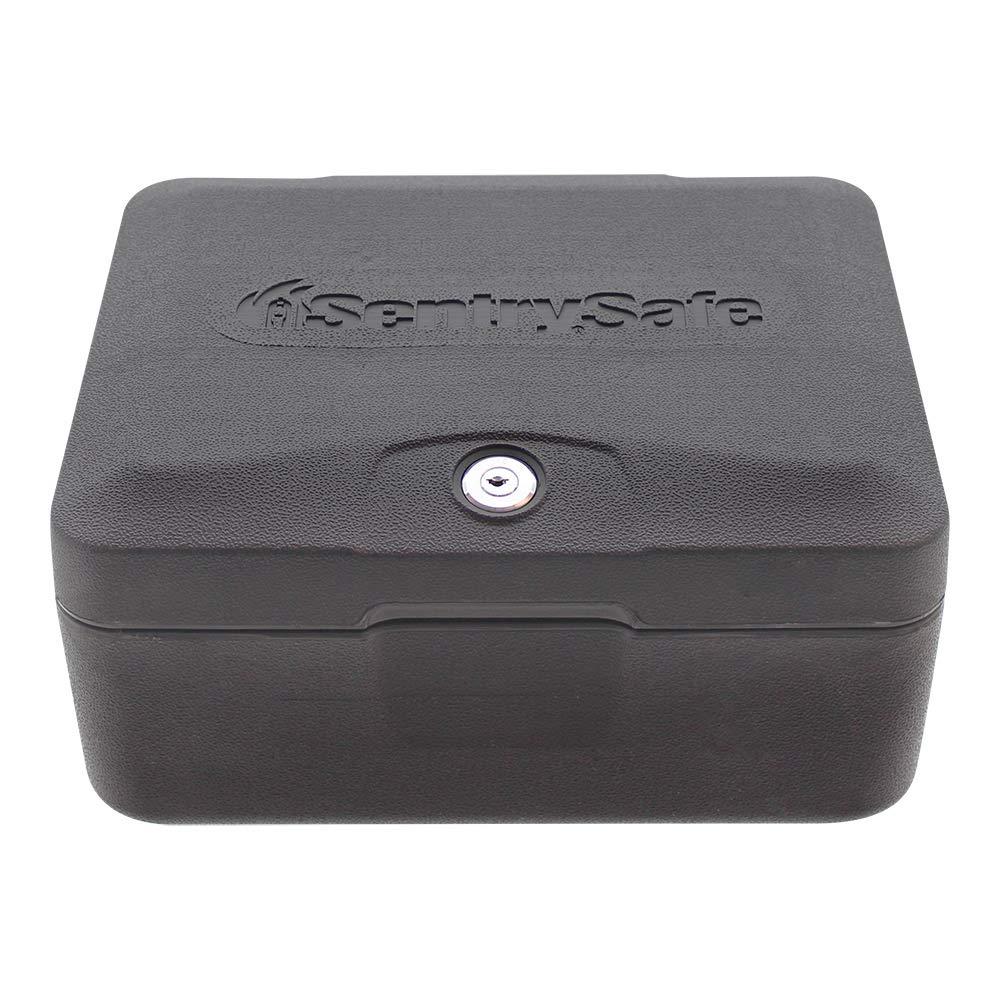 SentrySafe 0500 Fireproof Box with Key Lock, 0.15 Cubic Feet by SentrySafe