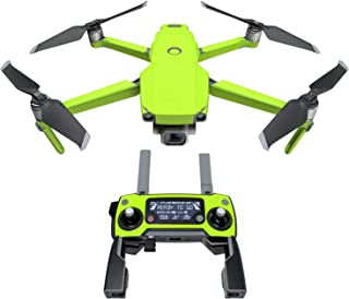 product image for Solid State Lime Decal Kit for DJI Mavic 2/Zoom Drone - Includes 1 x Drone/Battery Skin + Controller Skin
