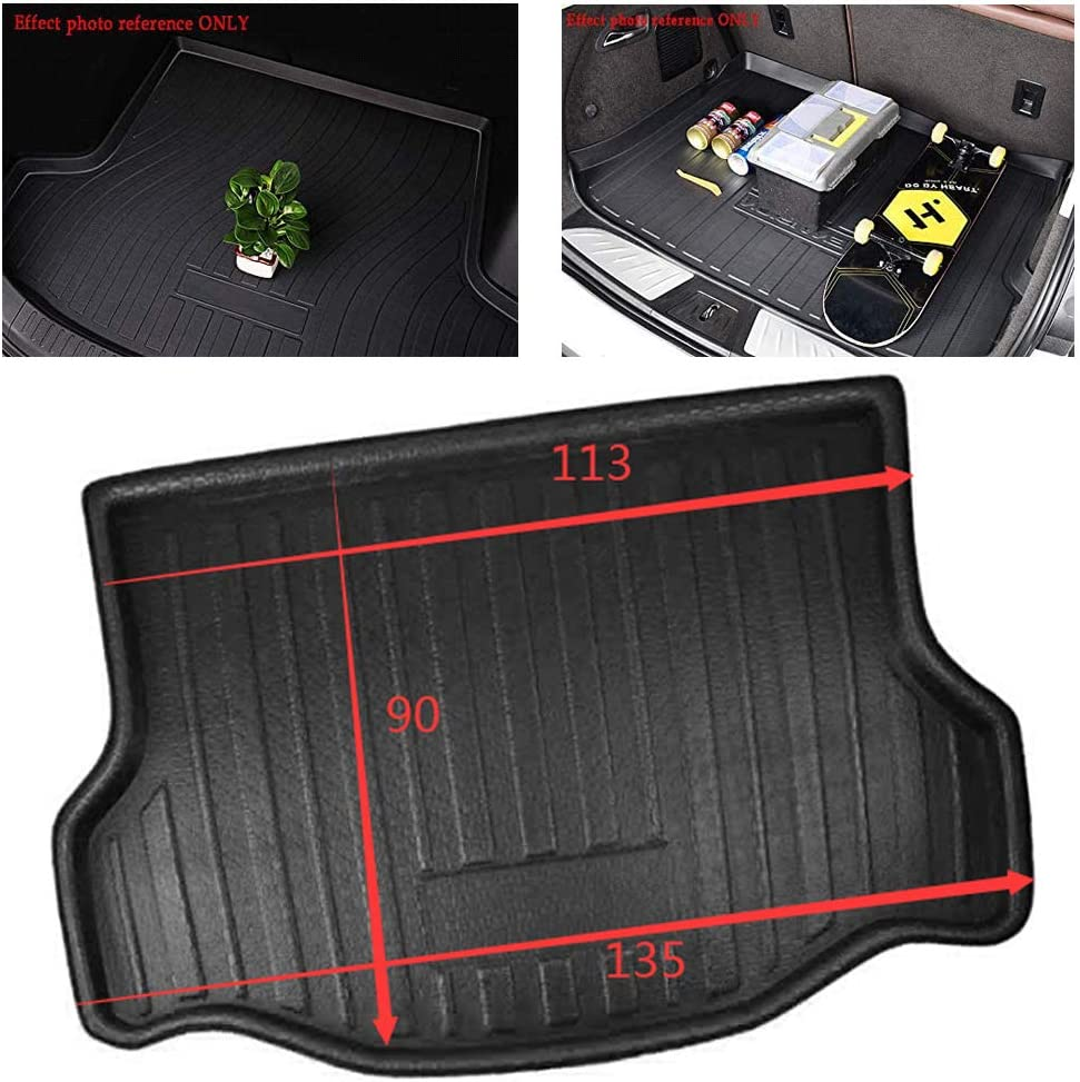 ZYHW Boot Liner Cargo Floor Mat Cover Protector Rear Trunk Tray for Toyota RAV4 2013-2019