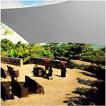 YLYP Jardín Al Aire Libre A Prueba De Agua Sol Sombra Vela Arco Rectángulo Protección UV 70% Impermeable Oxford Tela Exterior Velas Red Toldos Patio: Amazon.es: Deportes y aire libre