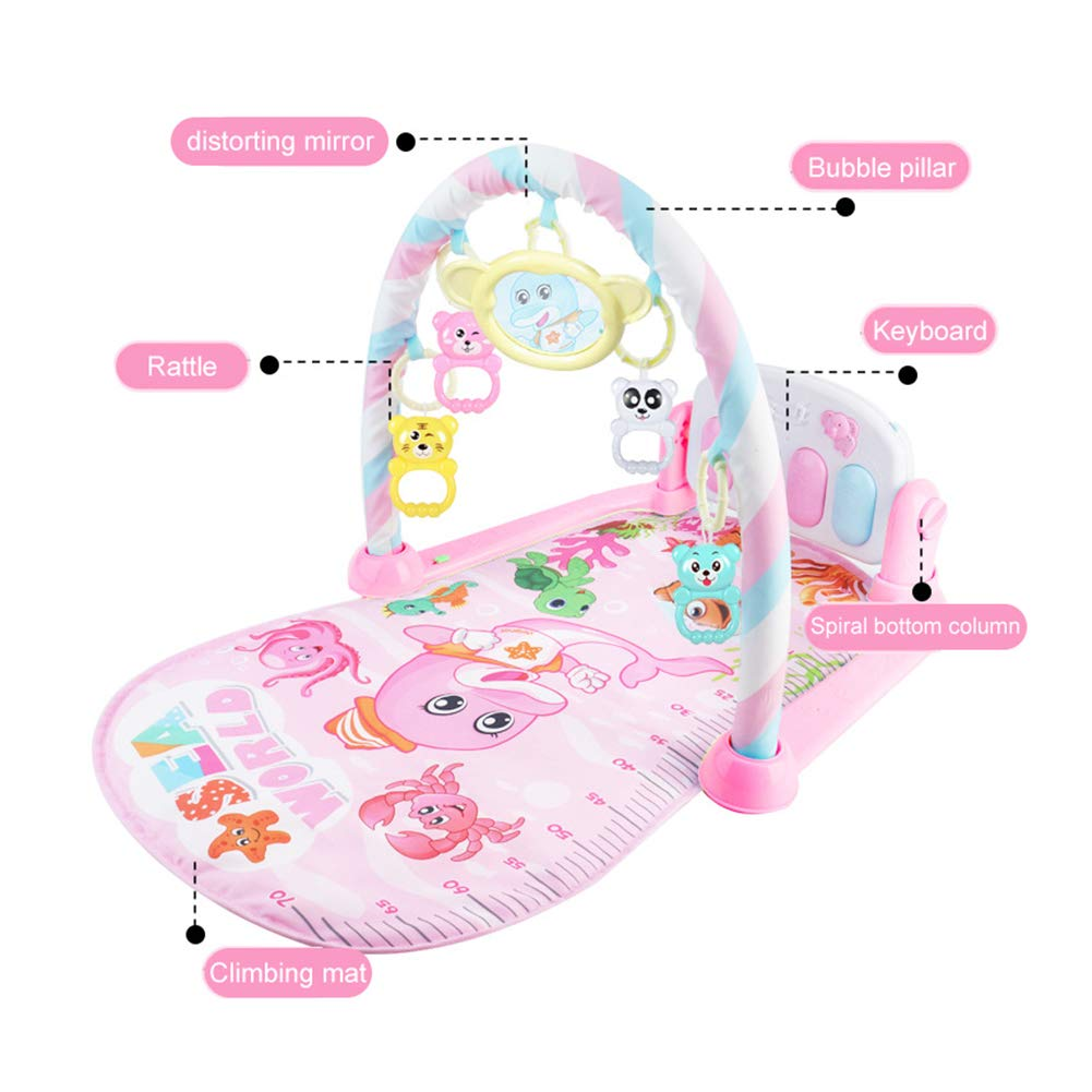 Music SMARTRICH Baby Play Piano Palestra Luce//New-Born Baby Play Mat Fitness