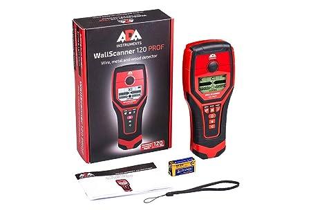 ADA Escáner de Pared 120 Prof Digital Stud Buscador de Metal, Alambre y Madera Detector