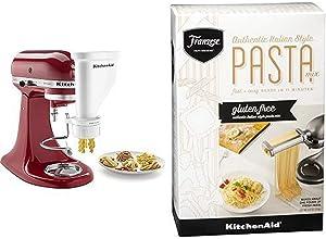 KitchenAid KSMPEXTA Gourmet Pasta Press Attachment with KitchenAid Franzese Gluten Free Pasta Mix