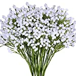 Supla-Pack-2-Babys-Breath-Artificial-14-ForksTotal-of-882-White-Blooms-Babys-Breath-Bulk-Flower-Bush-Gypsophila-Artificial-in-White-157-Tall-for-Wedding-Wreath-Boutonniere-Flower-Crown